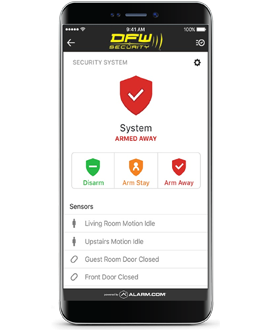 Smart Security Phone App