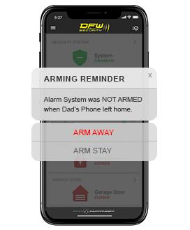 Smart Home Security System Alert